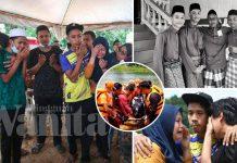 Sebaknya, Ayah Tak Berdaya Bawa Jenazah Tiga Anak Ke Tanah Perkuburan