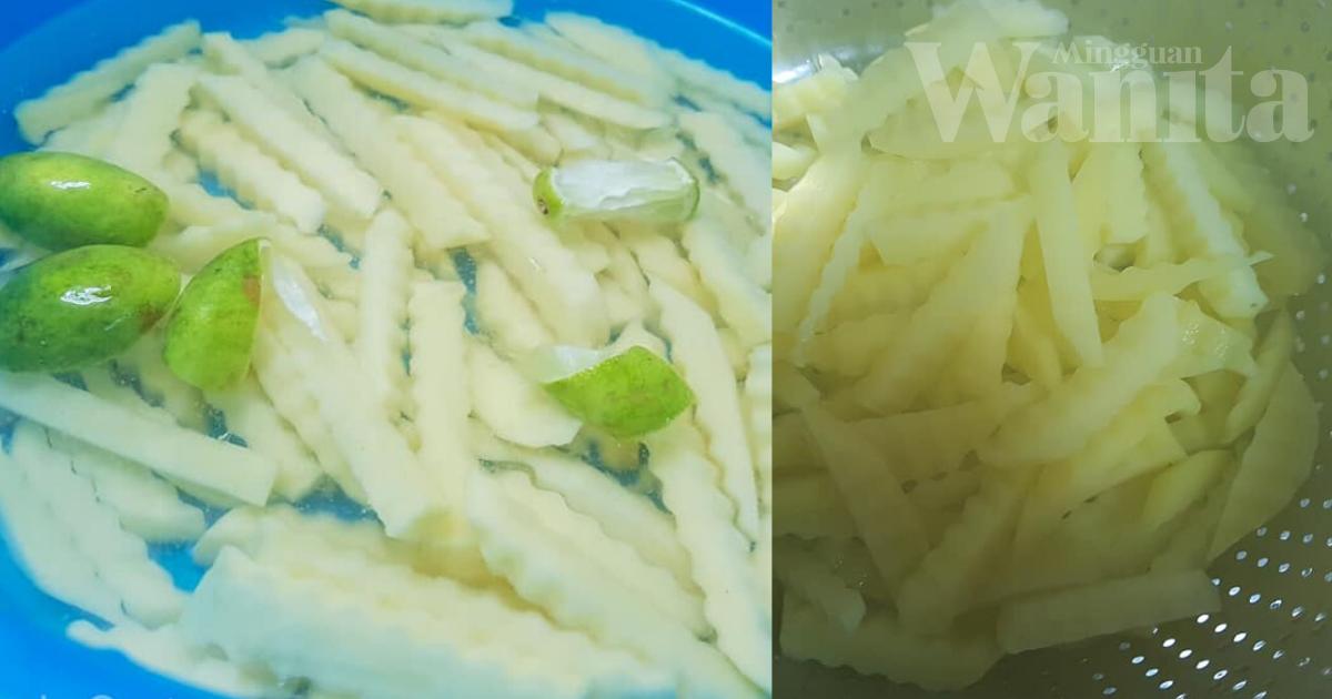 ejari Kentang Goreng Homemade, Sedap Dan Rangup Macam Di Restoran Makanan Segera!