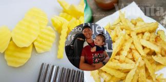 Jejari Kentang Goreng Homemade, Sedap Macam Dijual Di Restoran Makanan Segera!