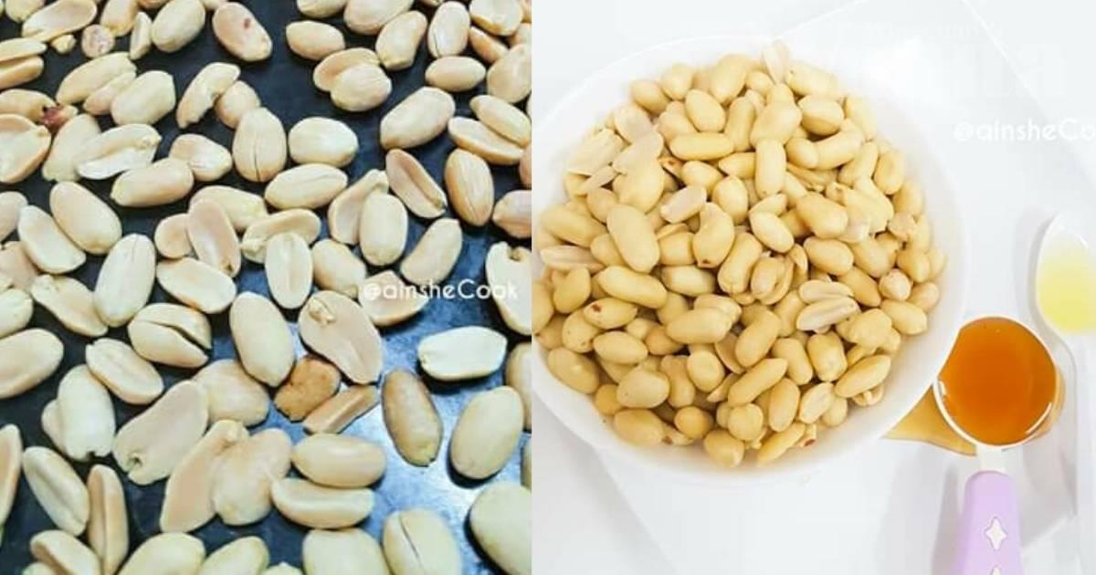 Mentega Kacang Homemade Versi Sihat, Guna Tiga Bahan Je!