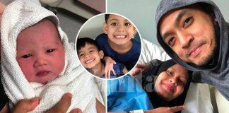 'Alhamdulillah.. Isteri Saya Selamat Melahirkan Seorang Baby Girl' - Tomok