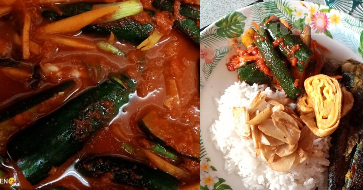 Rangup, Masam Dan Pedas, Kimchi Timun Ini Memang Pembuka Selera!