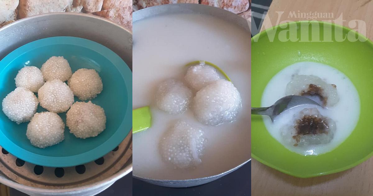 Asam Gumpal Sagu Terengganu, Rasa Lemak Manis Dan Penuh Aroma