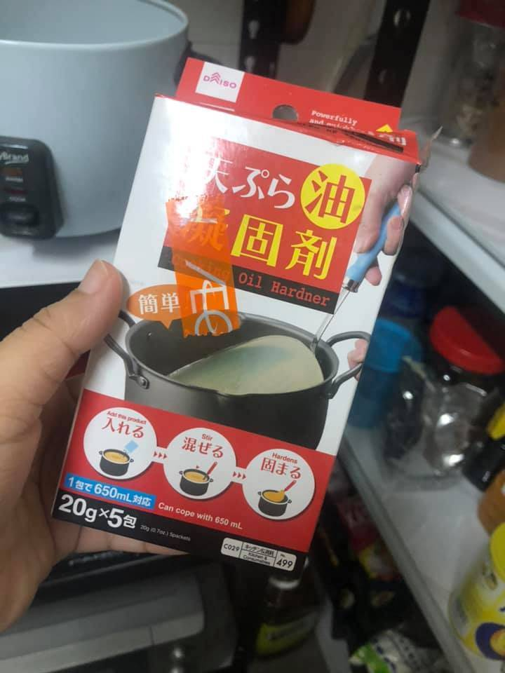 Rupanya Begini Cara Orang Jepun, Buang Lebihan Minyak Masak Terpakai
