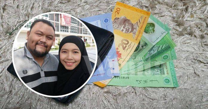 Sejak PKP Suami Simpan RM5, RM20, Niatkan Kongsi Rezeki Dengan Isteri