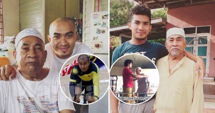 Sabar Adik Bongsu Azizulhasni Awang Jaga Ayah Stroke, Tersentuh Hati Dibuatnya