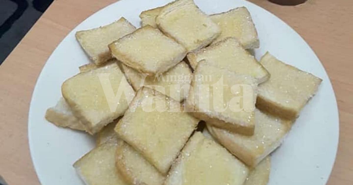 Roti Nak Tamat Tempoh, Boleh Buat Roti Kering, Sedap Cecah Kopi O!