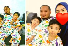 Suami Rendahkan Ego, Rela Sarung Baju Dinosaur Demi Bahagia Anak Isteri
