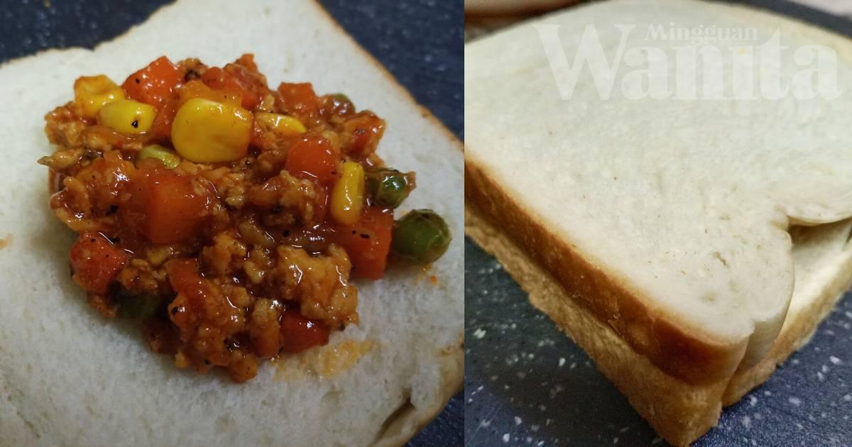 Roti Goreng Berinti Super Sedap, Boleh Buat Bekal Anak Ke Sekolah