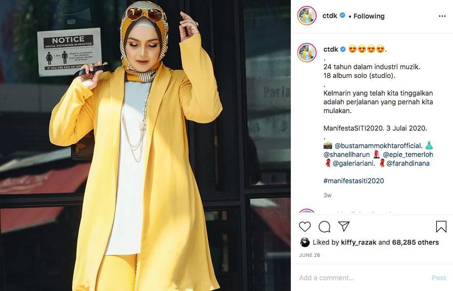 Arwah Abah Gaji RM700 Untuk 9 Sekeluarga, Bila Bersyukur Allah Beri Lebih - Siti Nurhaliza