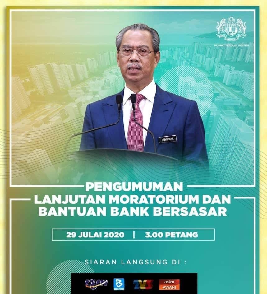 Bila PM Umum Lanjutan Moratorium, Bantuan Bank Bersasar, Fahamilah! Ramai Masih Susah