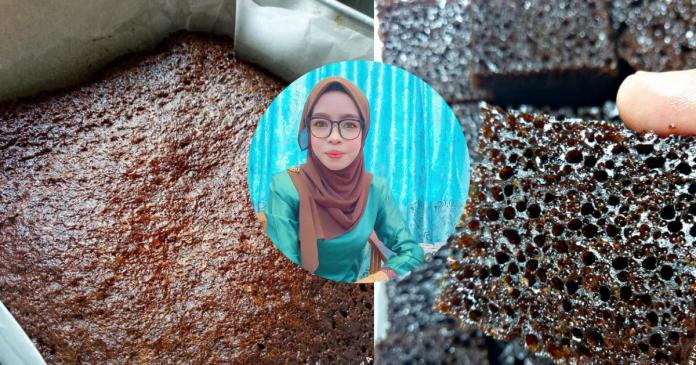 Kek Gula Hangus, Menjadi Sungguh Sarangnya