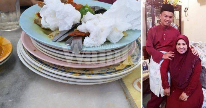 'Kemas Meja Lepas Makan Di Kedai..' Rezeki Murah Bila Permudahkan Kerja Orang