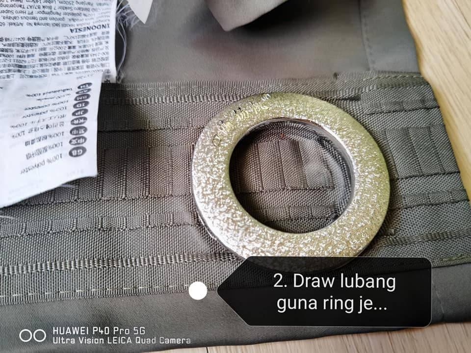 Begini Cara Tukar Langsir Hook Ke Ring, Curtain Tu Beli Online