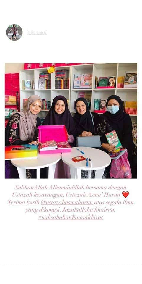 'Ustazah, Doakan Saya Jadi Orang Baik..' Mohon Fathia Latiff Dalam Sebak Tangis
