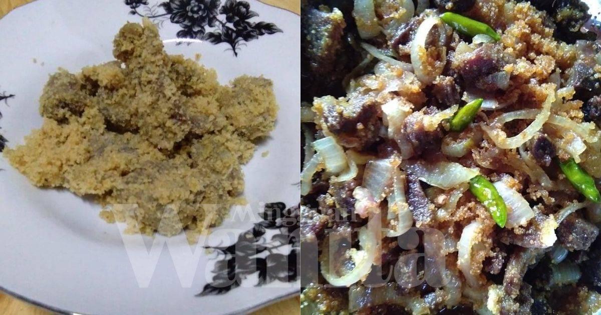 Pekasam Daging Homemade Guna 3 Bahan, Peram 10 Hari Baru Goreng