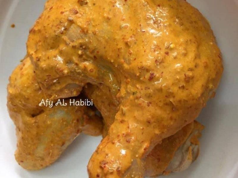 Ayam Penyet Berempah Cara Mudah, Serbuk Serdak Itu Yang Buat Sedap