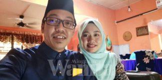 Isteri Ajak Bergambar Suami Layankanlah, Bahagianya Macam Dapat Hadiah Emas