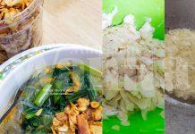 Kerepek Bawang Putih Rangup, Nak Senang Buat, Hiris Nipis Guna Slicer