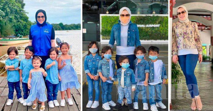 Masih Di Sabah, Zizie Ezette Pilih Kuarantin Dengan Anak-anak Di Rumah