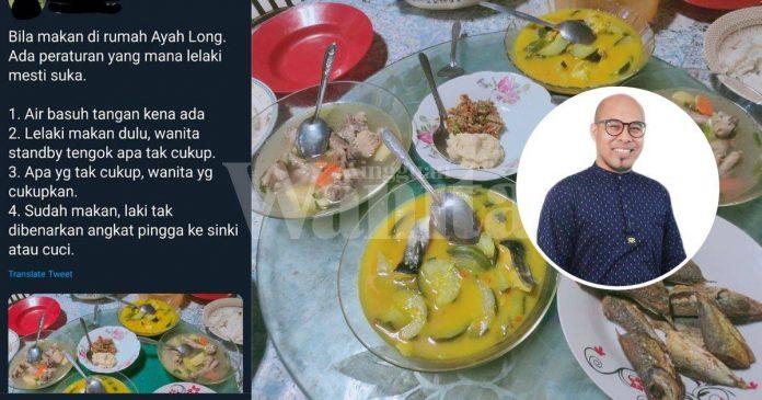 Dah Tak Relevan Budaya Lelaki Makan Dulu, Wanita Standby Apa Tak Cukup