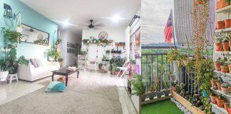 Berkebun Di Apartment, Tip Tanaman Indoor Hidup Lama, Senang Jaga!