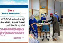 Sebaik Bebas Covid-19, Dr Zulkifli Hadiahkan Frontliner Buku Doa, Amalan Sepanjang Rawatan