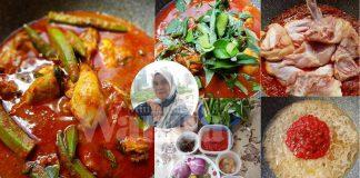 Resipi Asam Pedas Ayam Berempah, Lengkap Cara Buat, Senang Nak Masak!