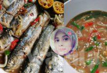 Ikan Rebus Cabai Picit, Sekali Rasa Confirm Tak Berhenti Makan!