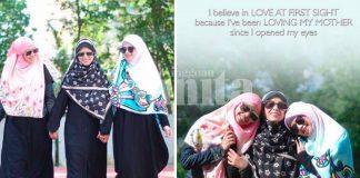 'Mama Abah Ada Di Mana Mana..' Gelagat Ibu Ayah Heliza Helmi Mencuit Hati