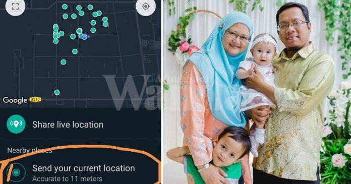Cara Betul Hantar Lokasi Melalui Aplikasi WhatsApp, Taklah Rider Tercari-cari
