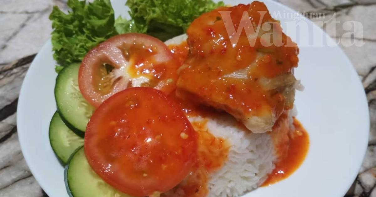 Nasi Ayam Kukus Guna Cawan, Mudah Nak Buat Sedap Ya Amat!