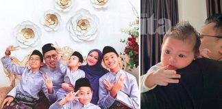 15 Tahun Perkahwinan Dikurniakan 5 Anak Lelaki, AG Azmeer Gandakan Syukur