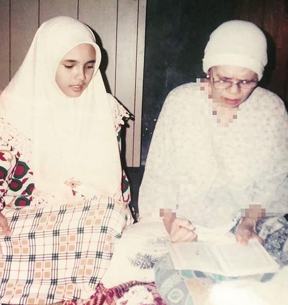 Ruzaini Jamil Sempat Jahit Bantal Akhir, Doakan Mak Mentua Tenang Di Alam Sana