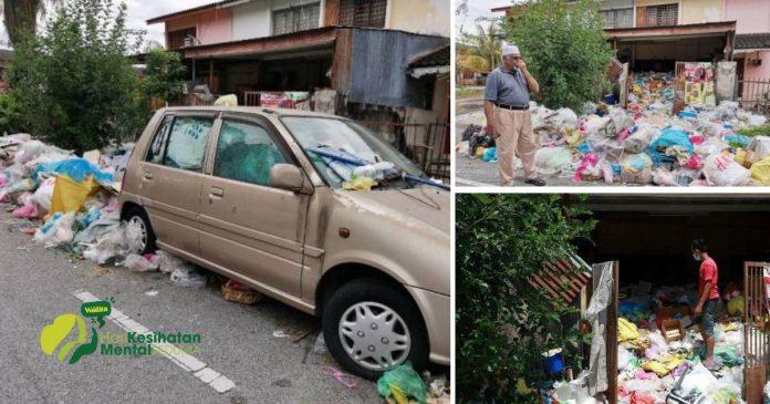 Derita Lebih 10 Tahun Berjirankan 'Cikgu' Hidup Dalam Longgokan Sampah