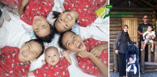 Tiada Rezeki Hari-hari Dengan Suami, Ibu Tetap Bersyukur Besarkan 5 Anak