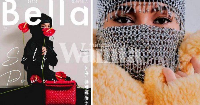 'Neelofa Sudah Ada Konsep Menutup Bahagian Wajahnya..' Jadi 'COVER' Majalah Berbahasa Cina