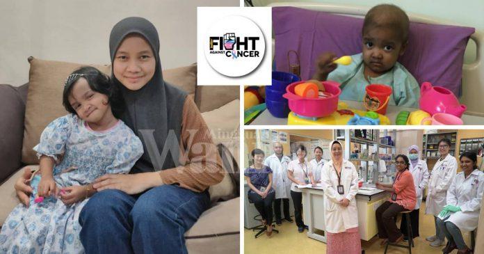 Kasih Ibu Penyelamat Nyawa, Aqeela Kini Sembuh & Bebas Barah LCH
