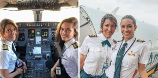Hebatnya! Ibu & Anak Perempuan Lakar Sejarah Terbangkan Pesawat Komersial Bersama-Sama