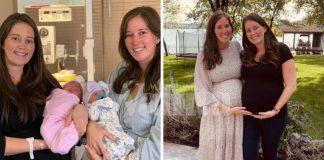 Kembar Lahirkan Anak Perempuan Selang 90 Minit Pada Hari Lahir Mereka