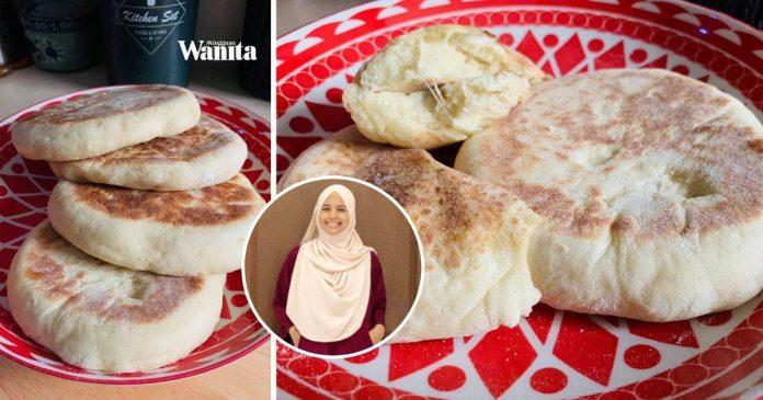 Buat Sendiri Roti Nan Cheese, Masak Atas Kuali, Frozenkan Pun Sedap
