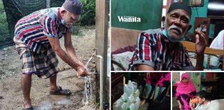 Bertahun Angkut Tong 10 Liter Atas Motor, Lepas 30 Tahun Akhirnya Dapat Air Bersih