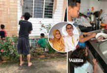 Ibu Tinggal Sekejap Susukan Baby, Tengok-tengok Ayam Dah Siap Dicuci Anak Lelaki