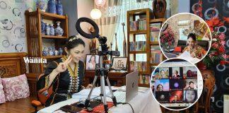 Cikgu Nancy Bercantik-cantik Dalam Google Meet, Mahu Murid Sama-sama Seronok Belajar