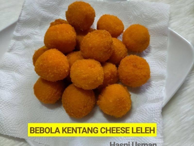 Bebola Kentang Cheese Leleh, Rangup Di Luar Lembut Di Dalam, Cubalah Buat!