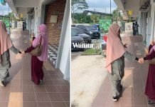Jalan Berdua Dengan Anak Sulung, Tak Sempat Bermanja Lama, Cekap Bantu Jaga 6 Adik