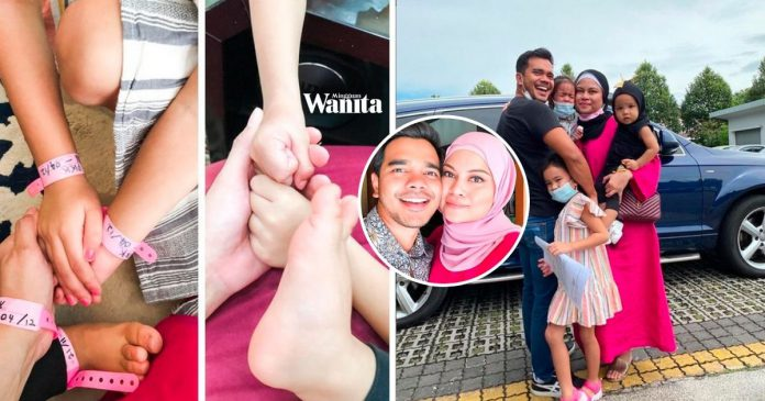 Bebas Covid-19 Alif Satar Bersyukur, Dapat Peluk Isteri Dan Anak-anak