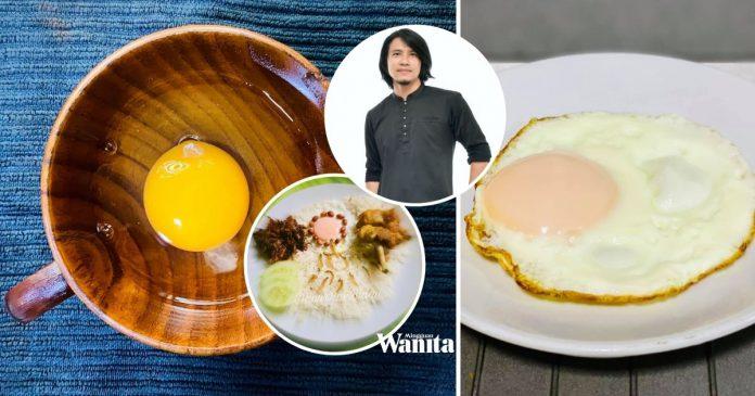 Tip Masak Telur Mata Goyang Yang Sempurna, Renjiskan Air Tutup Kuali
