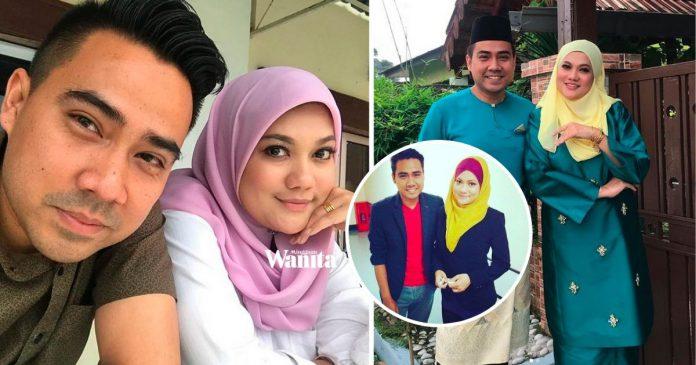 'Gambar Pertama Bidadariku Berhijab..' Sweet Ucapan Hari Lahir Suami Hazlin Hussain