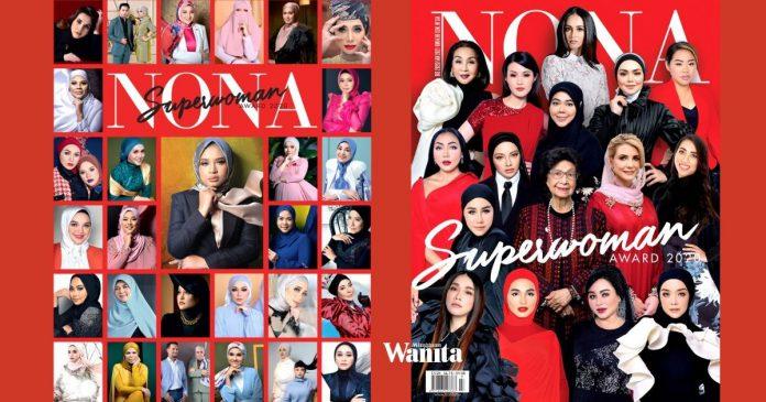 Malam Pengiktirafan NONA SUPERWOMAN, 47 Anugerah Untuk Penerima Handalan